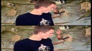 مقایسه حرکت سه بعدی و غیر سه بعدی(با دورببین مخصوص ببینید)