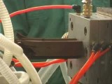 فیلم خط تولید پروفیل چوب پلاستیک