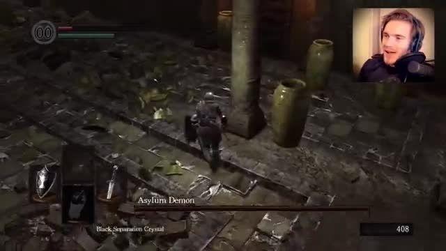 Dark Souls walkthrough by PewDiePie | Part 1