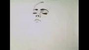 نقاشی با قلم سیاه فوق العاده