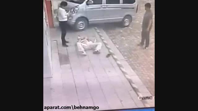 تصادف و قتل فجیع در خیابان...!