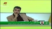 یرنامه 90 - تماس تلفنی با مازیار ناظمی و صحبت هایی دایی