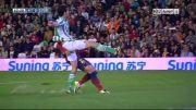 رئال بتیس 0 - 3 بارسلونا | گل فابرگاس