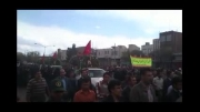 تشییع شهدای گمنام در شهر صوفیان