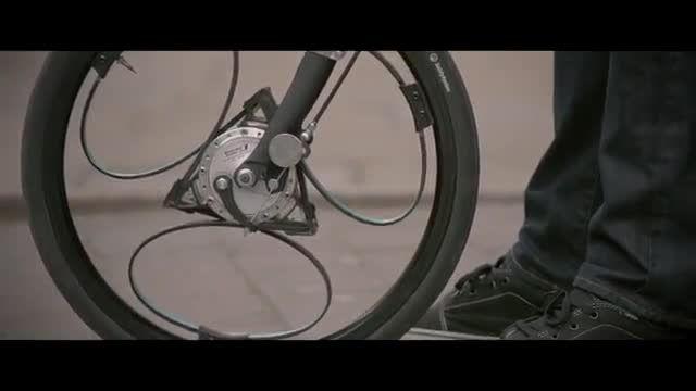 اختراع نوع جدید از چرخ برای دوچرخه که سواری را راحت و ن