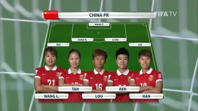 ترکیب : چین VS آمریکا (جام جهانی زنان 2015 کانادا)