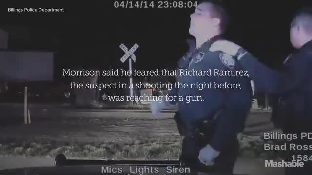 گریه کردن پلیس آمریکایی بعد از کشته شدن فرد غیر مسلح