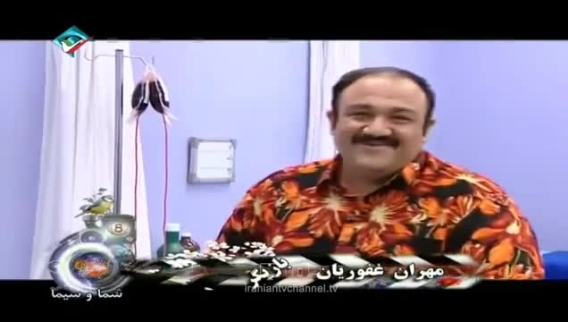 پشت صحنه سریال خنده دار در حاشیه (اتاق عمل) مهران مدیری