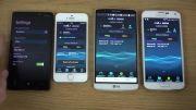iphone 5s vs lumia 930 vs g3 vs galaxy s5