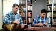چهار مضراب مخالف سه گاه استاد مشکاتیان سبحان وعلی رحمانی