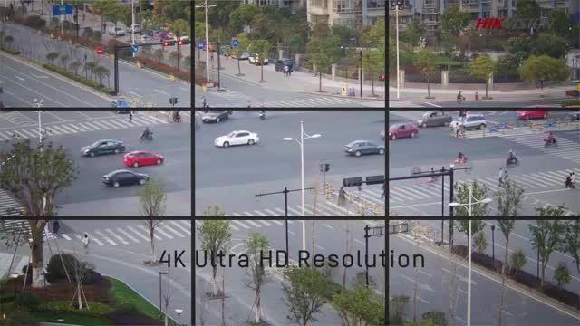 کیفیت 4K با دوربین های مداربسته ی هایک ویژن