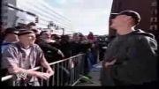جان سینا و خواندن رپ برای یک نفر