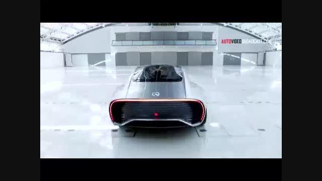 طرح اولیه خودروی آیرودینامیک هوشمند شرکت بنز