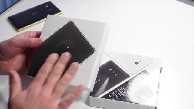 انباکس لومیا 830 و لومیا 930 طلایی