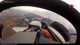 پرواز زیبا و فرود میگ 29 بر عرشه ناو جنگی