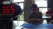 رکورد حل مکعب روبیک توسط انسان