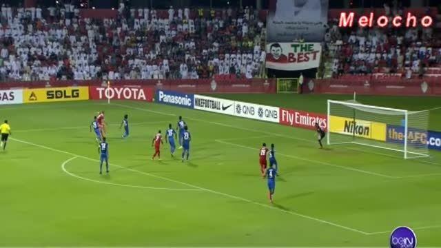 گل های بازی؛ الاهلی امارات 3 - 2 الهلال عربستان