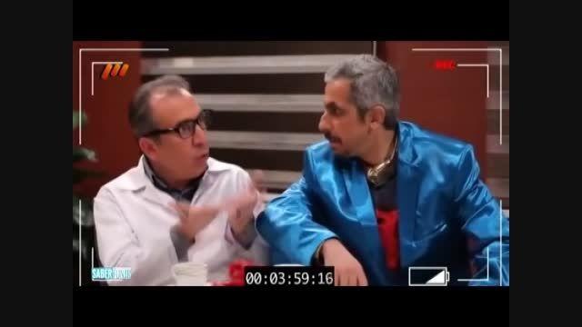 پشت صحنه کمدی سریال طنز درحاشیه (قسمت 12/بخش2)