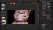 آموزش مدلسازی سر -2-head modeling zbrush