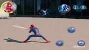 نبرد الکترو و مرد عنکبوتی در بازی موبایل مرد عنکبوتی...