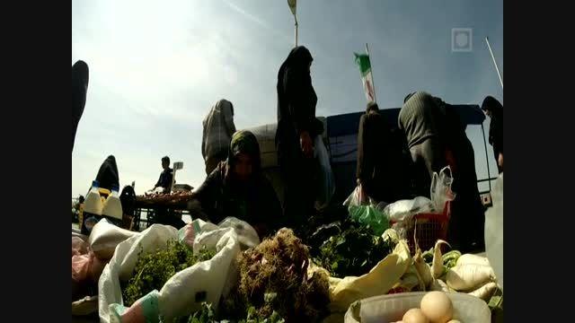 گشتی در جمعه بازار جویبار