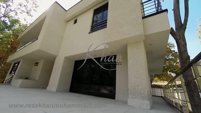 ویلا ((مدرن،زیبا و ساده)) از تیم معماری خان محمدی