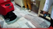 اسکرابر Go - دستگاه نظافت صنعتی و شستشوی کف شارژی