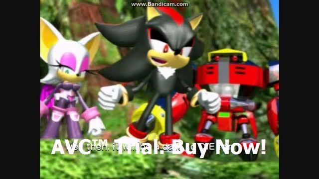 Sonic Heroes - Team Sonic VS Team Dark