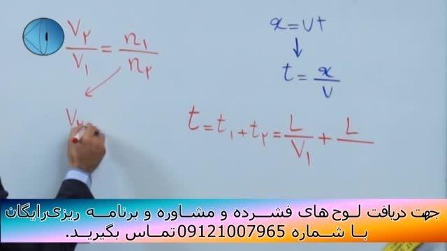 حل تکنیکی تست های فیزیک کنکور با مهندس امیر مسعودی-153