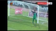 گل چهارم استقلال خوزستان به استقلال تهران