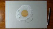 طرح  نقاشی  کردن   شکل تخم مرغ!!