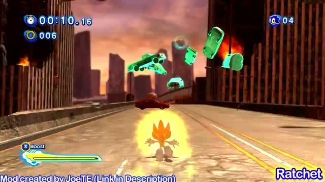 Super Sonic Generations - Super Sonic Vs Super Silver