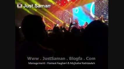 کنسرت سامان جلیلی در تهران ، آهنگ حرف دلم (جاست سامان)