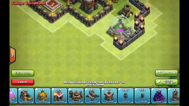 base town hall **8** clash of clans