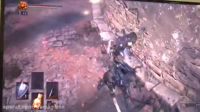 گیم پلی از بازی Dark Souls 3 در Gamescom 2015