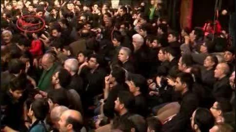 شب تاسوعا 93-قصیده خوانی آقای منتظر در مسجد جامع کاشان