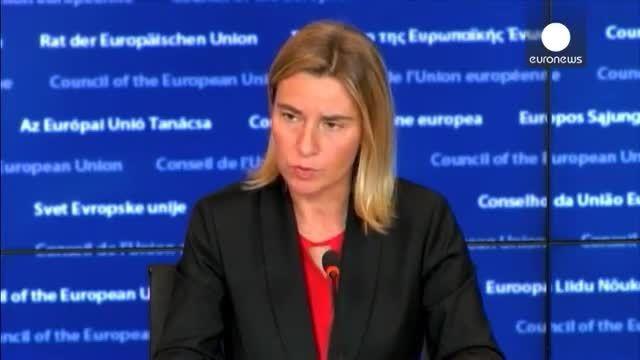 موگرینی : اتحادیه اروپا خواهان تعامل با روسیه است