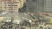 تصاویر زنده از میدان تقسیم