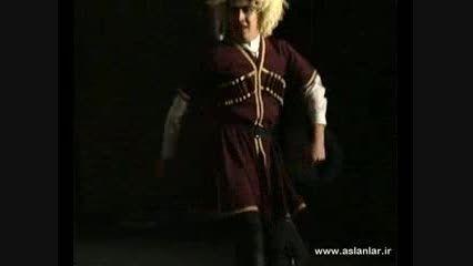 rags  رقص زیبای لزگی گروه آسلانلار(قایتاغی)(رقص آذری)