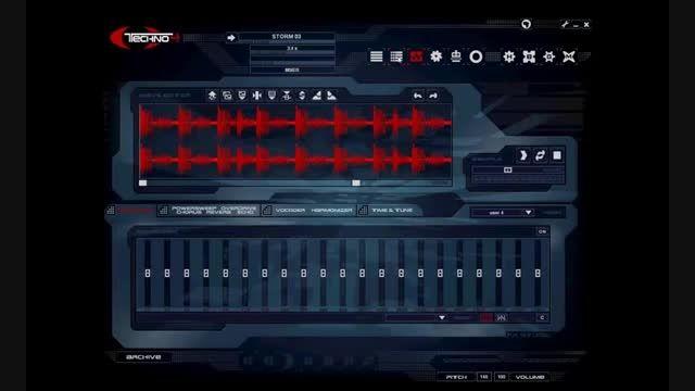 ساده نرم نرم افزار ساخت موزیک تکنو