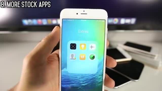لیست 50 ویژگی برتر iOS 9