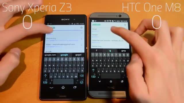 HTC One M8 vs Sony Xperia Z3_Apps speed test