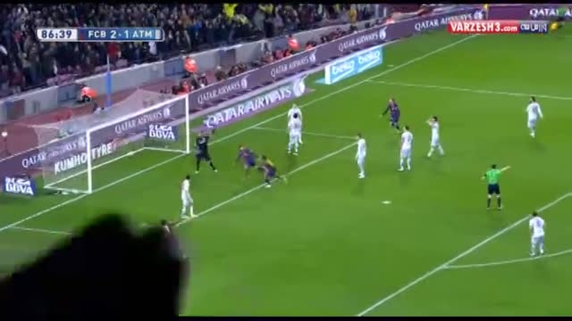 گل مسی؛ بارسلونا-اتلتیکو مادرید