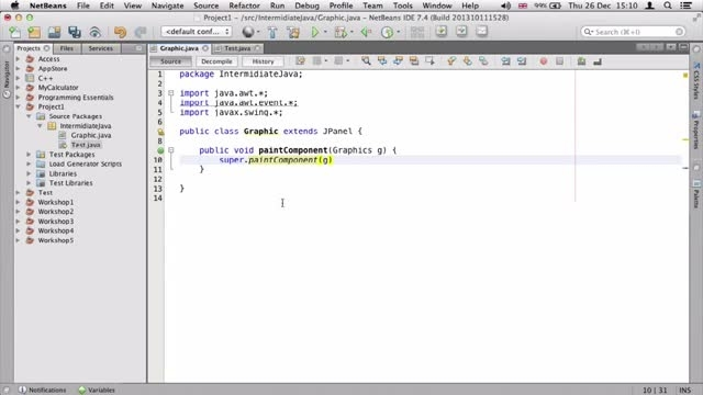 ۳- کشیدن اشکال گرافیکی در جاوا Java