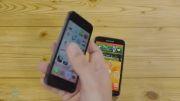 مقایسه سنسور اثر انگشت Samsung Galaxy S5 و Apple iPhone