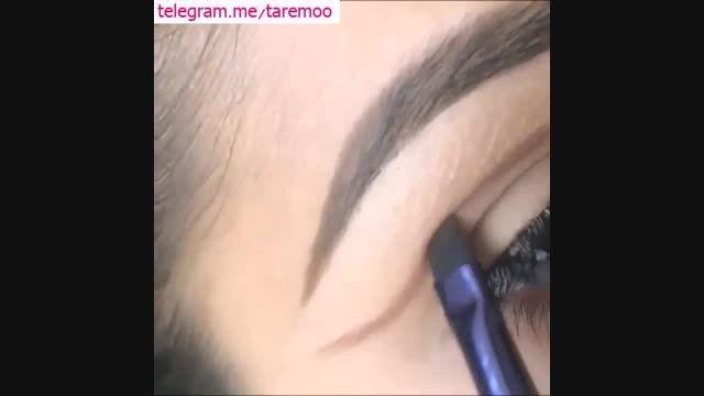 آموزش آرایش چشم و ابرو در تارمو