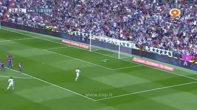 گل کریستیانو رونالدو؛ رئال مادرید ( 2 ) - لوانته ( 0 )