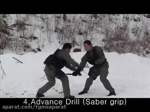 دفاع شخصی نیروهای ویژه (دفاع کارد یاسرنیزه)