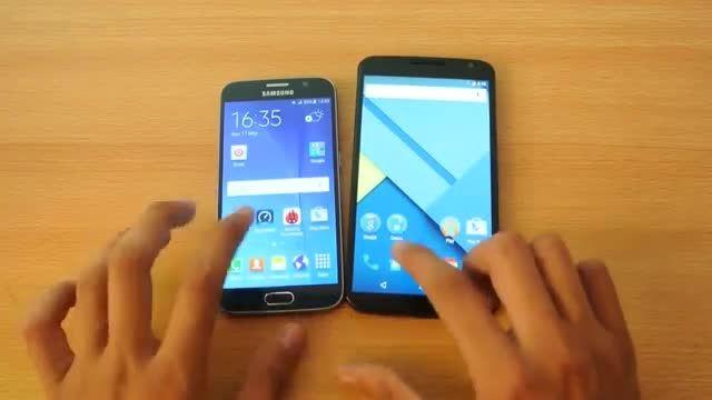 Samsung Galaxy S6 vs Nexus 6 - Apps Speed Test