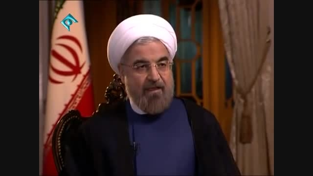 مصاحبه دکتر روحانی با شبکه NBC NEWS آمریکا